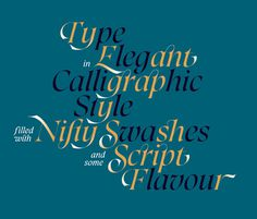 Font of the day: Caligo   Typography   Creative Bloq #type #typography