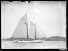 All sizes | Schooner ADA on Sydney Harbour | Flickr Photo Sharing!
