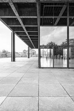 Neue Nationalgalerie by Ludwig Mies van der Rohe