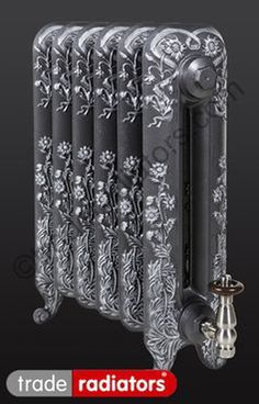 Contemporty Victorian style stainless steel radiator