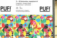 PUF!xe2x84xa2 Festival - Brand Identity #plants #festival #celebration #print #design #graphic #culture #illustration #identity #signage #typography