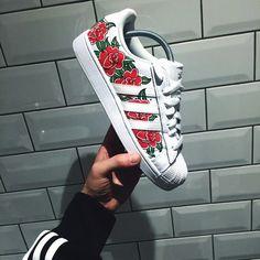 Adidas Superstars by London based artist Adam Claridge #nike #art #custom