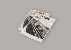 graphic design : . #magazine #rail #volker