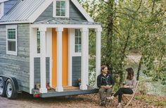 Kika in i den här lilla stugan på hjul – den är full av överraskningar - Sköna hem