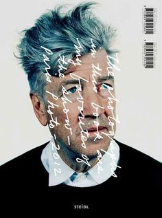 David Lynch. Steidl cover #handwriting #scrawl #cover #photography #type #editorial