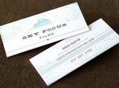© 2011 funnel : eric kass #pattern #business #card #design #color #texture #awesome #typography