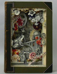 CJWHO ™ (Book Art by Alexander Korzer Robinson Alexander...) #korzer #design #books #robinson #illustration #alexander #art #clever