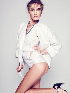 Алина Байкова для журнала Harpers Bazaar Spain