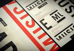 ARTE MUSICA : Sébastien Bisson #identity #stationary #typography
