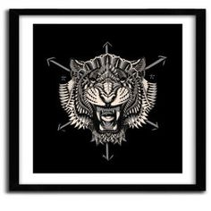 EYE OF THE TIGER BY BIOWORKZ #print