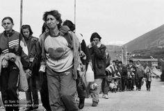 Ethnic Cleansing in Kosovo by Tom Stoddart #photojournalism #photography #inspiration