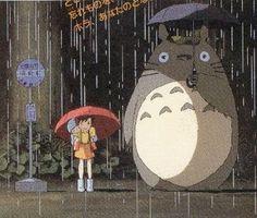 totoro - Imágenes de Google #animacion #miyasaki #totoro