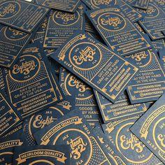 Eighteen32 #letterpress #businesscard
