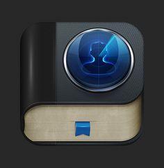 Dribbble - 2.jpg by Biff Tenon #icon #icons #book #app #ios
