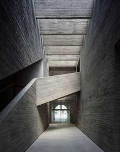 TEMPESTUOUS T E A P O T #stone #stairs #the mostyn gallery #llandudno #ellis williams architects