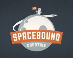 Spacebound Creative by growcase #logo #retro