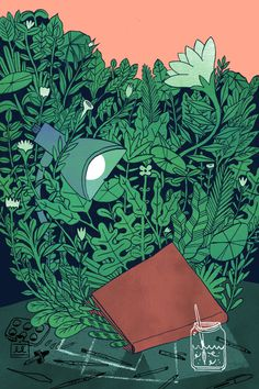 Pressed Leaves, Jon Marchione #illustration #leaves