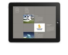 iB Architects - JPB STUDIO - Art & Creative Direction #ipad #interfacedesign #screendesign