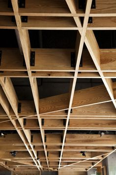 Pinned Image #wood #architecture #pattern