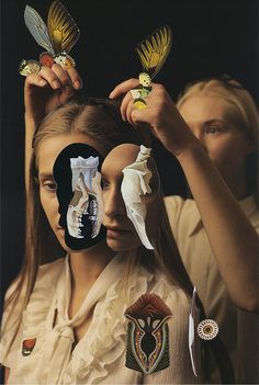 Magdalena Franczuk & Ashkan Honarvar | PICDIT #photo #collage #design #art