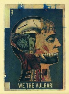 Ikhoor: The Portfolio of Daniel Kent #print #trade #head #retro #gothic #vintage #cmyk #skull