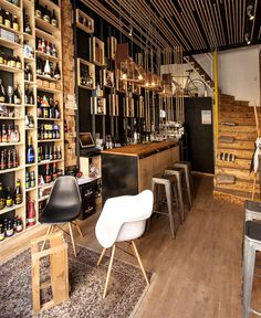 Cat and Mouse Beer Bar and Concept Store by Studio 8 ½ - #bar,#restaurant, #restaurantdesign, #lamp, #lighting