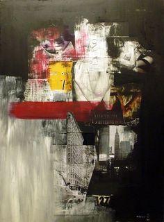 NY, always NY on the Behance Network #collage #mariocoreaaiello #art
