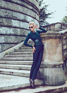 Carmen Kass by Koray Birand for Vogue Mexico
