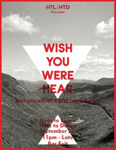 Wish You Were Hear #print