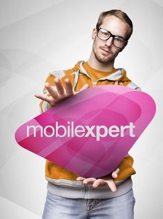 Mobilexpert - Flavio Barros | Designer Gráfico #logotype #phone #des #cell #cellphone #mobile #logo