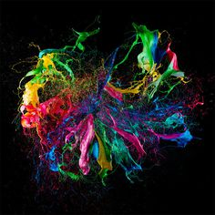 Liquid Jewels: High Speed Photos of Paint on Popped Balloons by Fabian Oefner #explosion #pop #color #balloon #paint #liquid #splatter