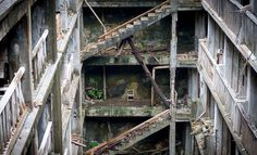 CJWHO ™ (Gunkanjima (軍艦島, Battleship Island) officially...) #design #landscape #abandoned #photography #architecture #art #japan