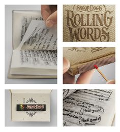 RollingWords_Book by Snoop Dogg