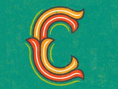 C_is_for_c #letter #decorative #c #typography