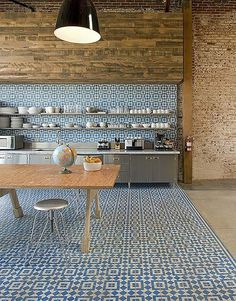 BiscuitStudiosKitchen GranadaTileFez HR #interior #tiles #design #decor #kitchen #deco #decoration