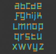 Typedesign - outofoffice #font #specimen #typedesign #fondesign #typography