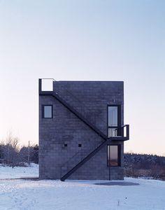 Cube house, Ithaca NY 2000