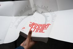 European Capital of Culture Programme Book #design #typography