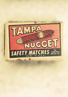 Tampa Nugget #matchbox #vintage