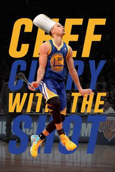 Steph Chef Curry Edit by Gilbert Thole