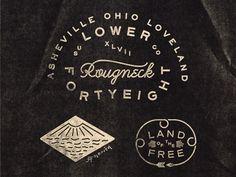 branding, typography, Matthew Genitempo, Heritage, Classic, American, Branding, Design, Vintage, Retro, Identity, Logo, Typography