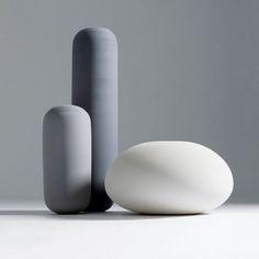 Vase design original / en céramique OOPS by Roberto & Ludovica Palomba BOSA