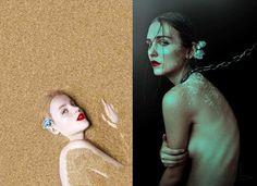 New Self Portraits by Cristina Otero
