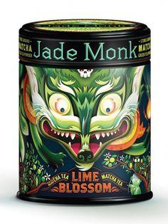 Jade Monk – Packaging de Té » Moonward » Diseño, arte, creatividad e inspiración