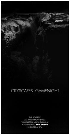 John Helmuth | Portfolio #cityscape #flyer #snow #black #night #poster #game #waterfall #winter