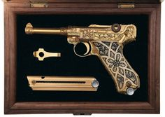 THEM THANGS #gun #vintage #gold