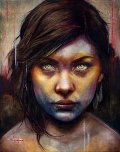 Una-by-Michael-Shapcott_web.jpg (JPEG Image, 530 × 674 pixels) #schapcott #portrait #painting #michael