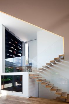 Villa AMT by Gerstner | Architects Corner #stairs #design #architecture #modern