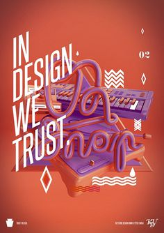 In design we trust 02. on the Behance Network #4d #design #cinema #art