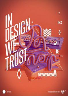 In design we trust 02. on the Behance Network #4d #design #cinema #art